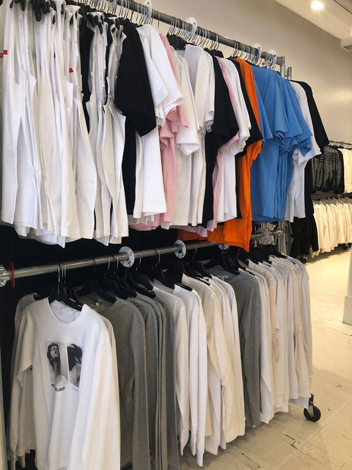 Helmut Lang Sample Sale Tees