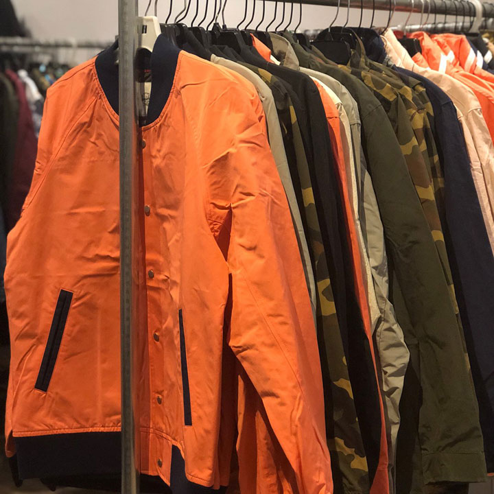 Herschel Supply Co. Sample Sale Jackets