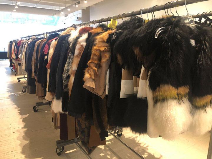Herve Leger Sample Sale Fur