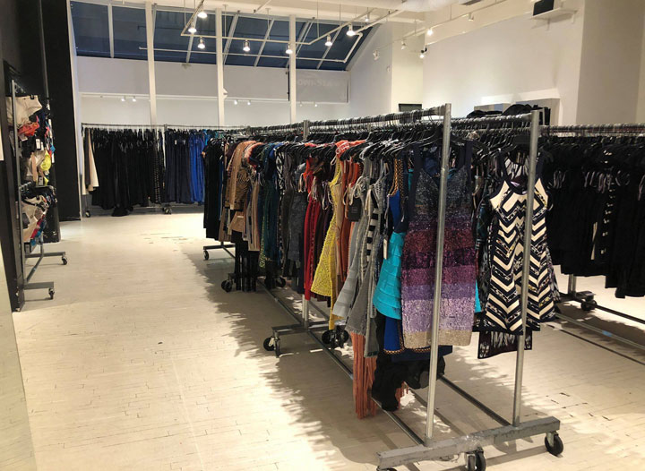 Pics from Inside the Herve Leger Sample Sale