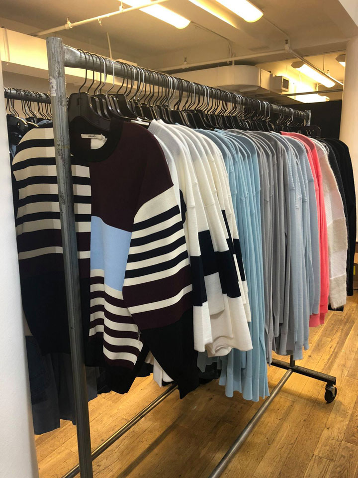 J Brand Sample Sale Sweaters