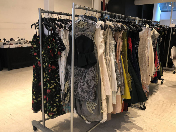 Pics from Inside the Jason Wu Sample Sale