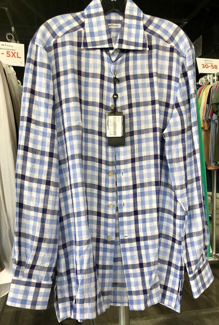 Kiton Sample Sale Shirt