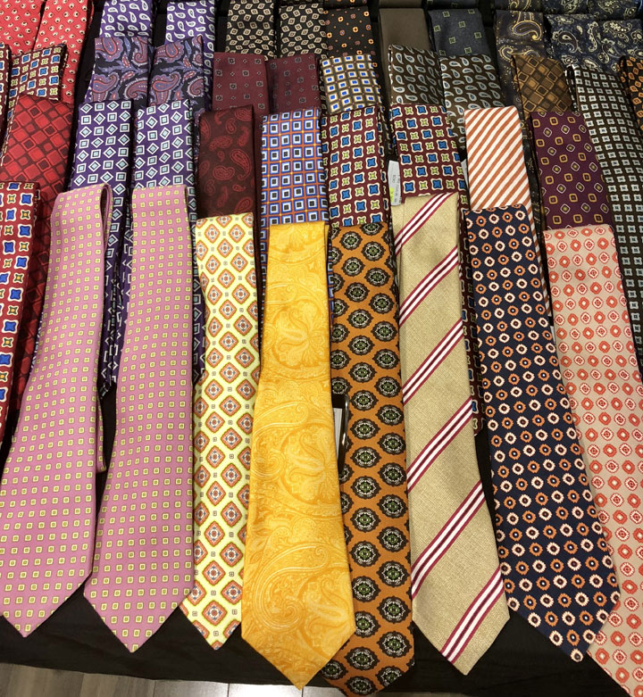 Kiton Sample Sale Ties