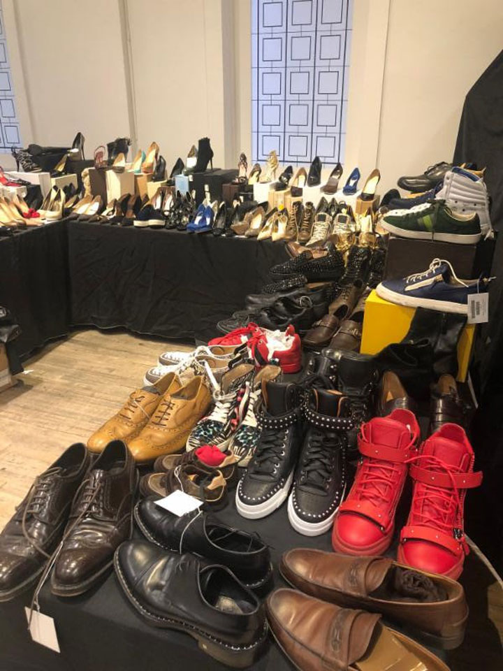 LXRandCo Sample Sale Footwear