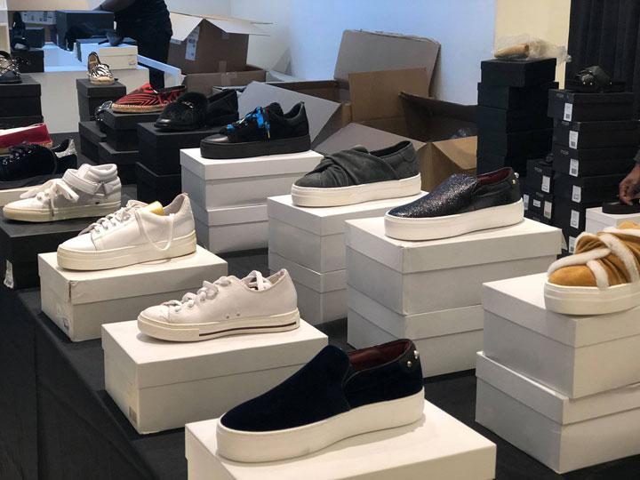 Maje Sample Sale Footwear