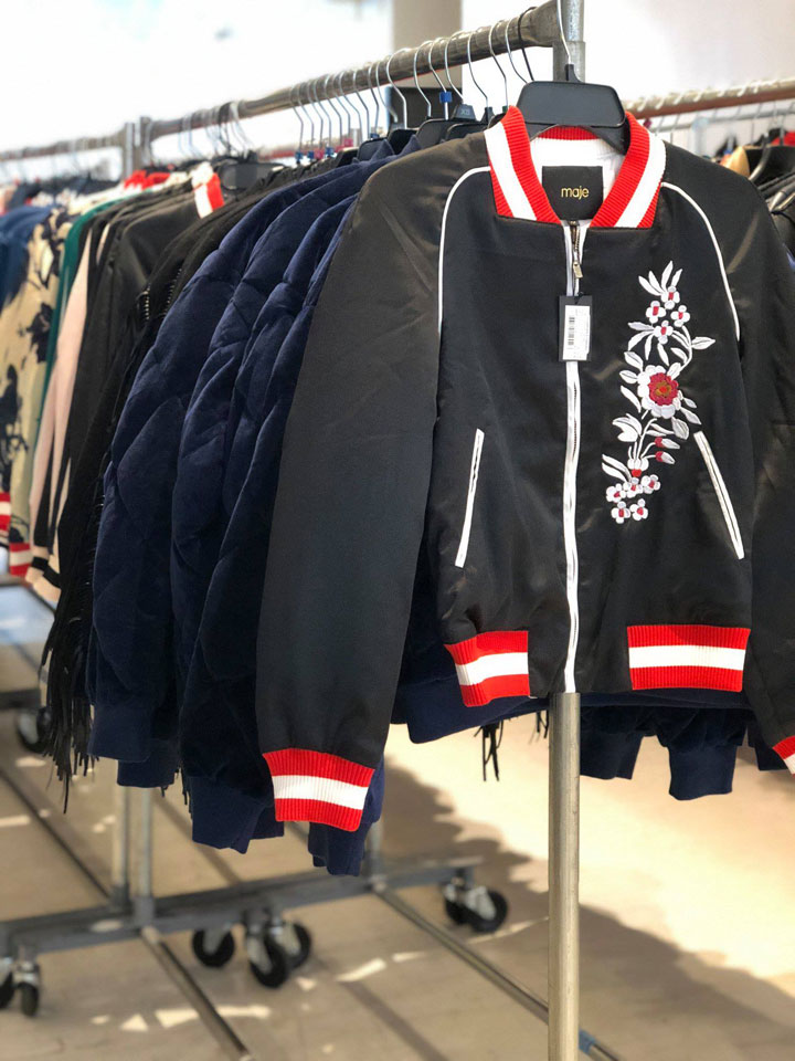 Maje Sample Sale Jackets