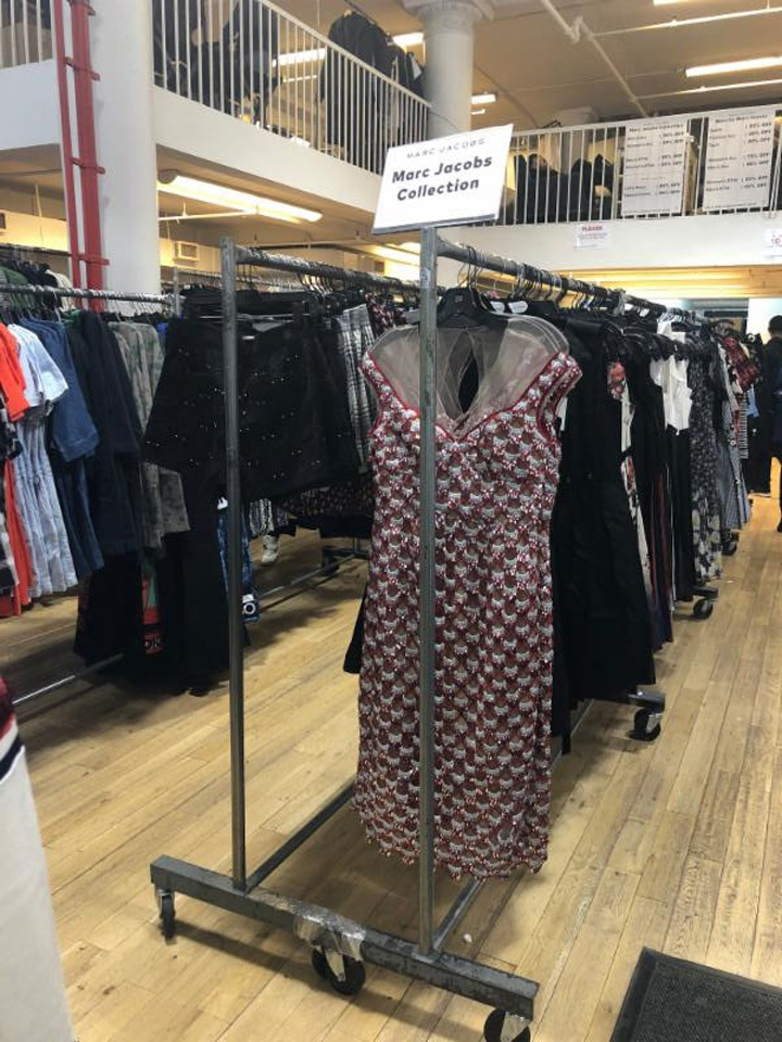 Marc Jacobs Sample Sale Apparel