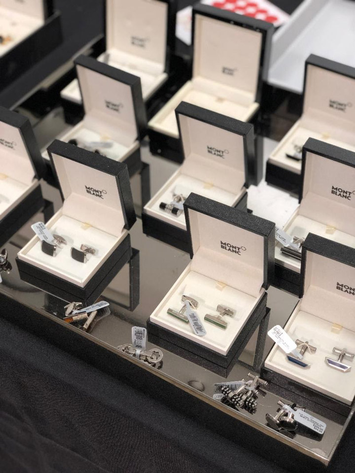 Montblanc Sample Sale Cufflinks