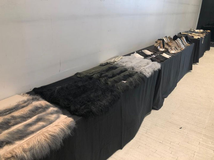Nicholas K Sample Sale Accessories