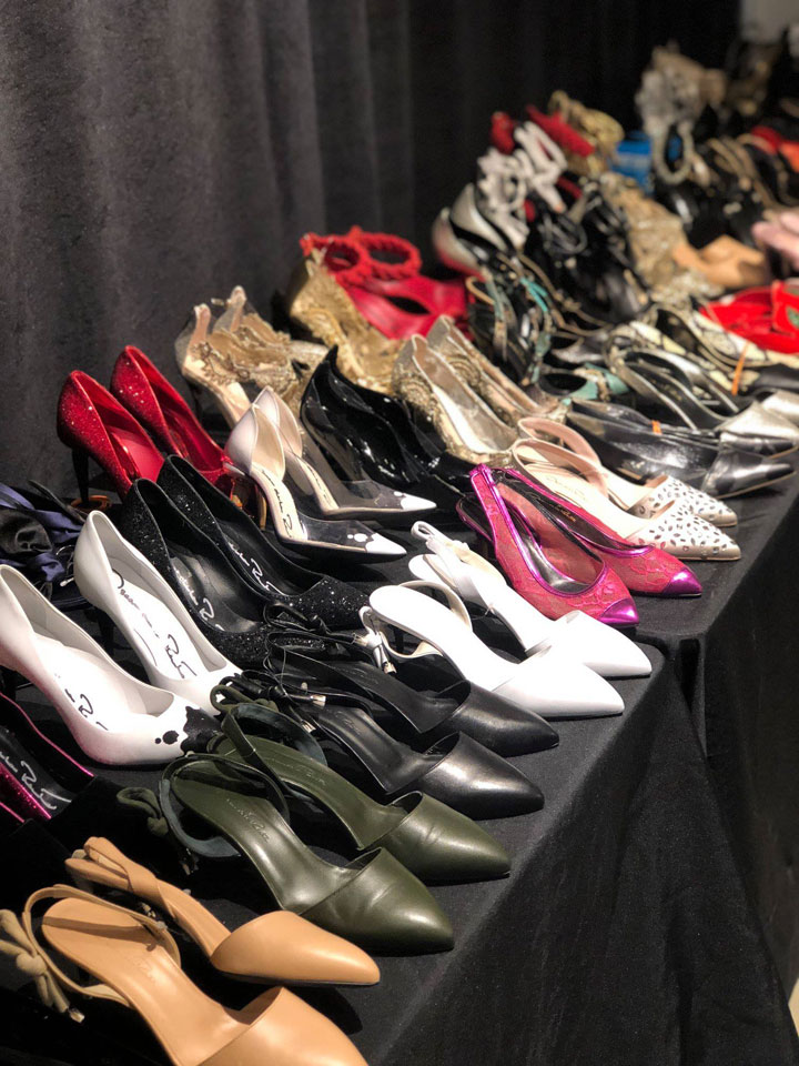 Oscar de la Renta Sample Sale Footwear