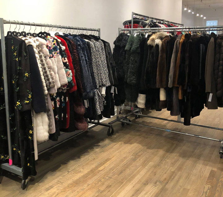 Oscar de la Renta Sample Sale Fur