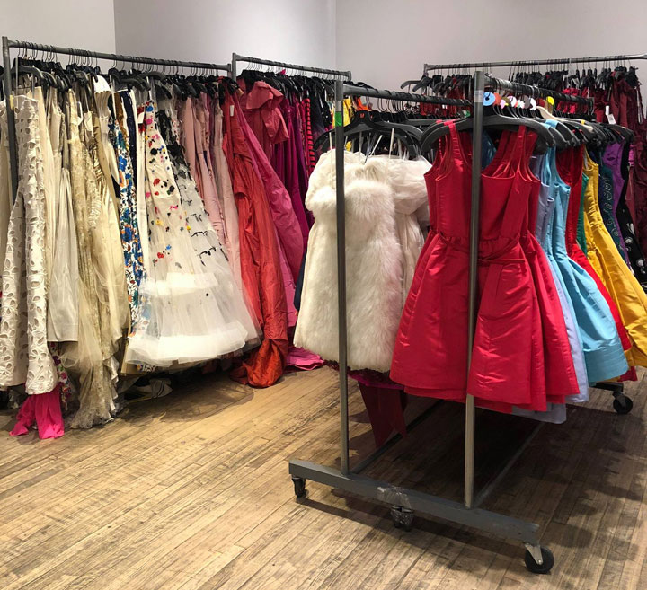 Oscar de la Renta Sample Sale Dresses