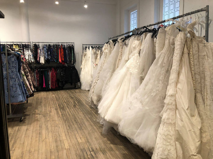 Oscar de la Renta Sample Sale Bridalwear