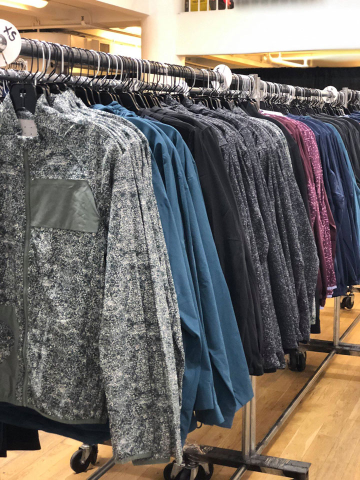 Outdoor Voices Sample Sale Jackets
