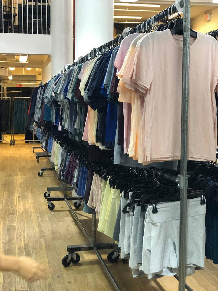 Outdoor Voices Sample Sale Menswear