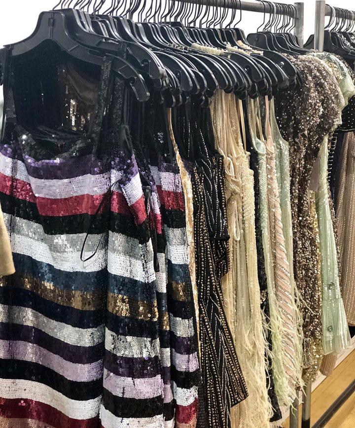 Parker Sample Sale Dresses