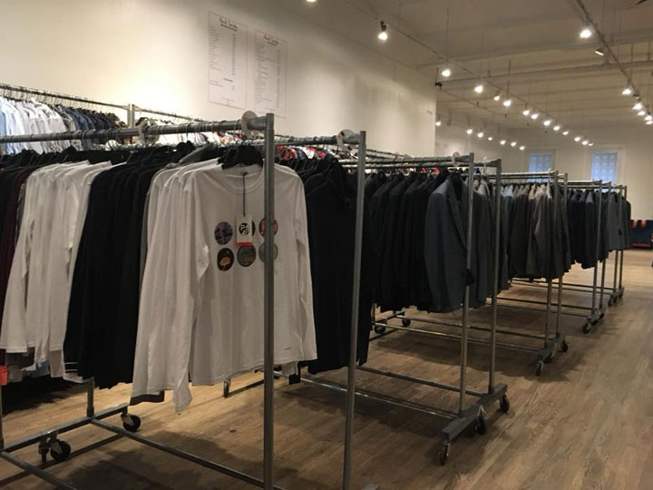 Paul Smith Sample Sale Menswear