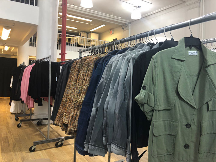 Pics from Inside the FRAME Sample Sale