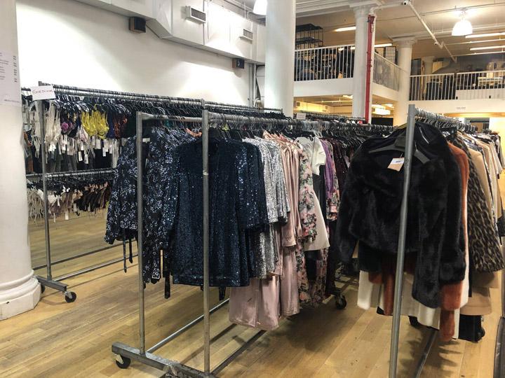 Pics from Inside the Jil Sander, Jonathan Simkhai, & More Sample Sale