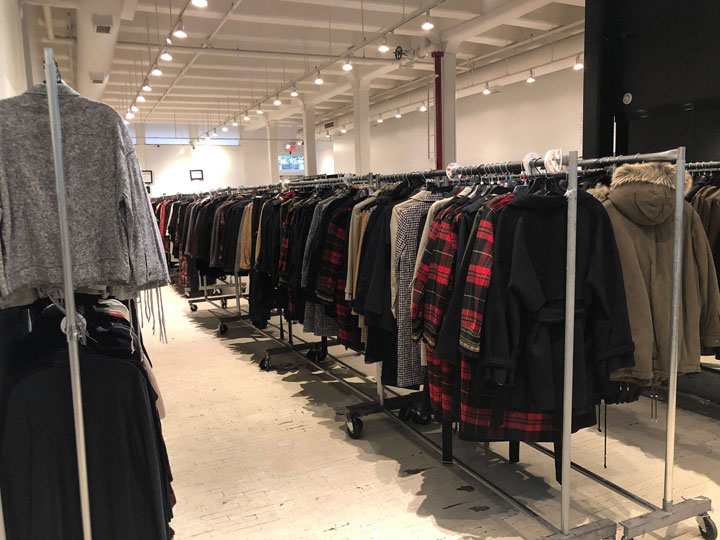 Pics from Inside The Kooples Sample Sale