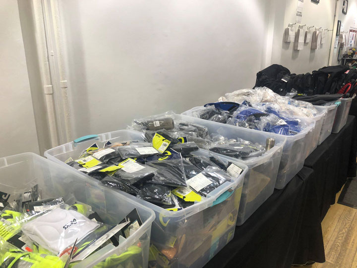 Pics from Inside the ASICS Sample Sale