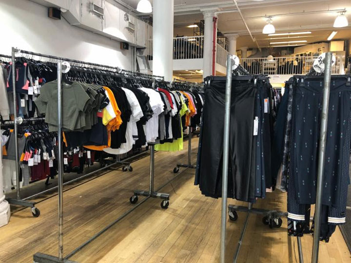 Pics from Inside the Bandier Sample Sale