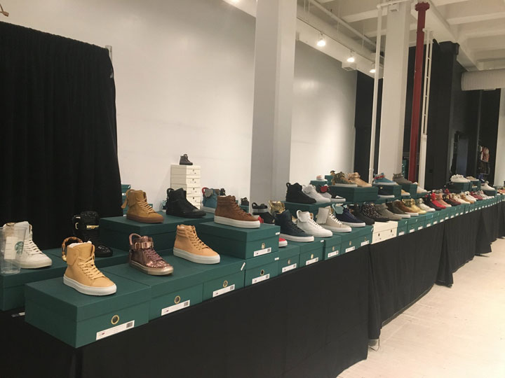 Pics from Inside the Buscemi Sample Sale