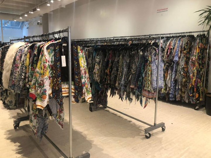Pics from Inside the Camilla Sample Sale
