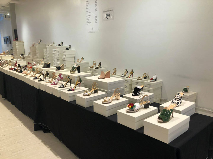 Pics from Inside the Charlotte Olympia Sample Sale