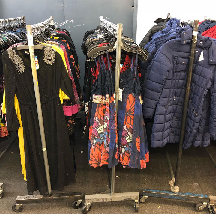 Pics from Inside the Desigual Sample Sale