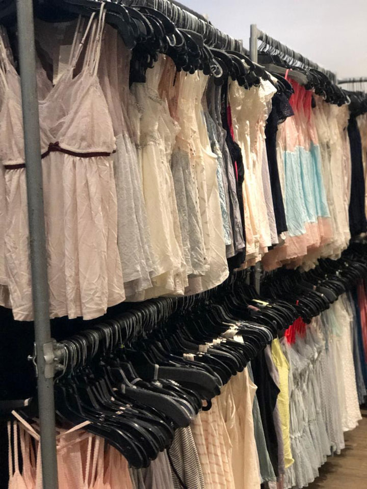 Pics from Inside the Eberjey Sample Sale