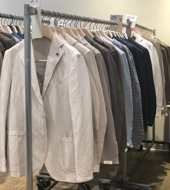 Pics from Inside the Eidos Napoli Sample Sale