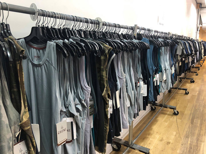 Pics from Inside The Shop at Equinox Sample Sale