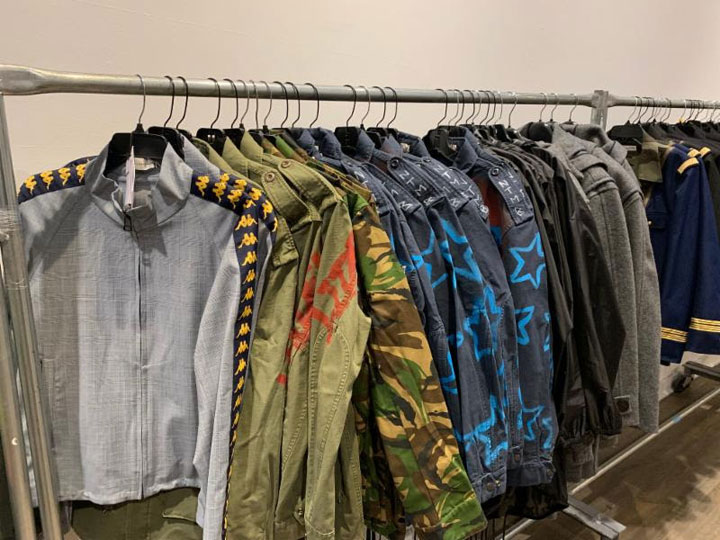 Pics from Inside the Faith Connexion + Miaou Sample Sale