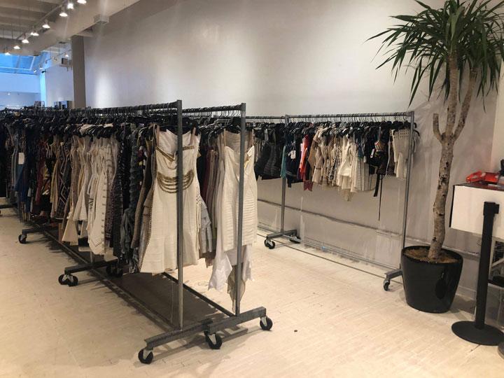 Pics from Inside the Herve Leger + BCBGMAXAZRIA Sample Sale