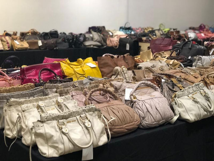 Pics from Inside the LXRandCo Sample Sale