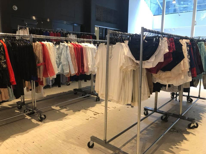 Pics from Inside the La Perla Sample Sale