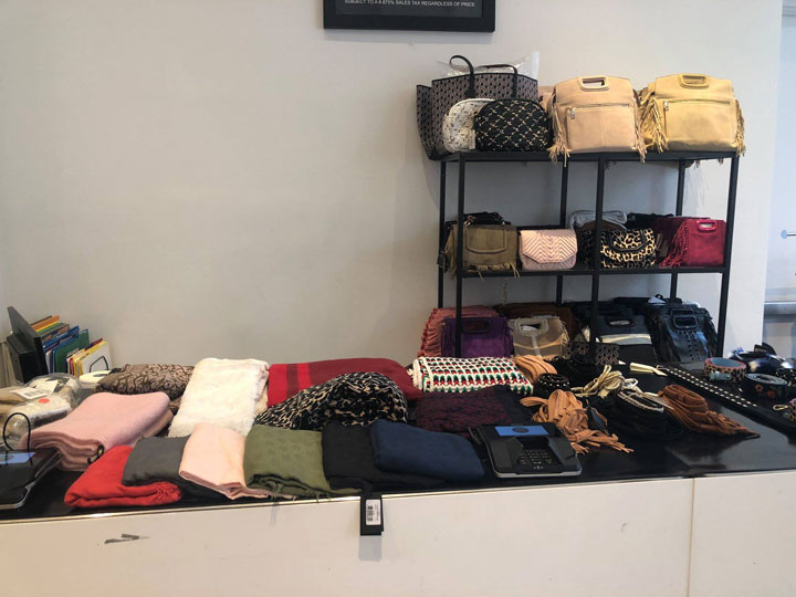 Maje Sample Sale Accessories