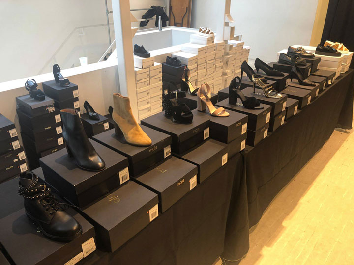 Maje Sample Sale Footwear