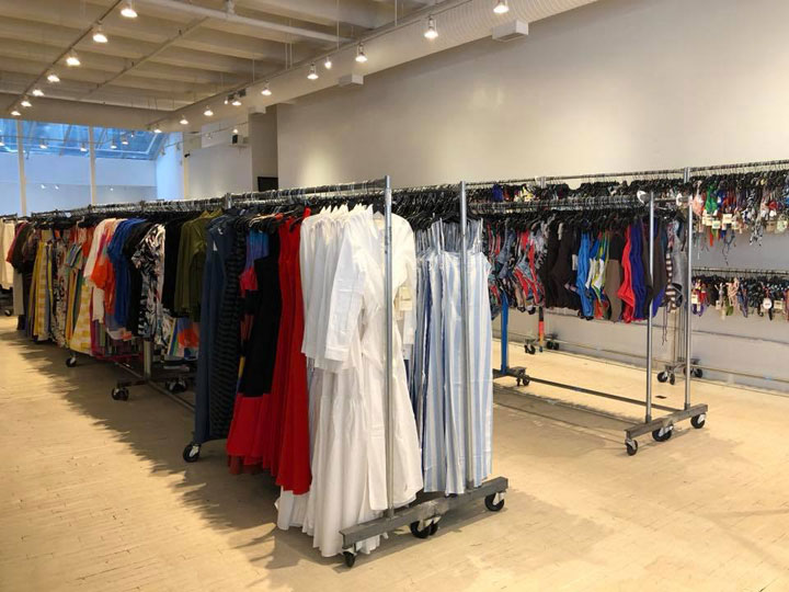 Pics from Inside the Mara Hoffman Sample Sale