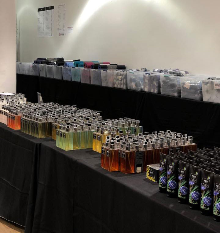 Pics from Inside the Nest Fragrances Sample Sale