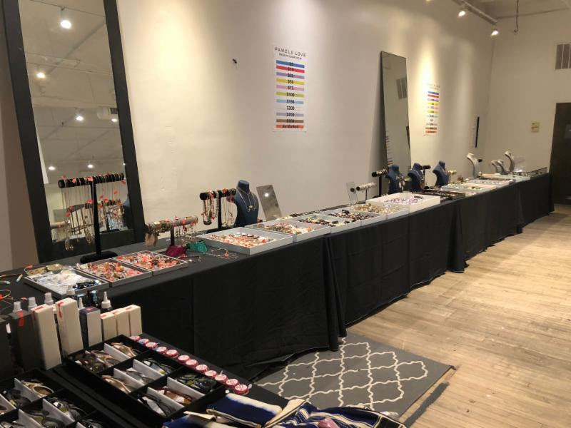 Pics from Inside the Pamela Love Sample Sale