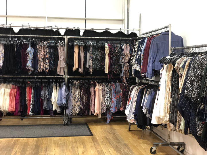 Pics from Inside the Parker Sample Sale