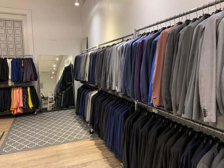 Pics from Inside the Paul Smith Sample Sale
