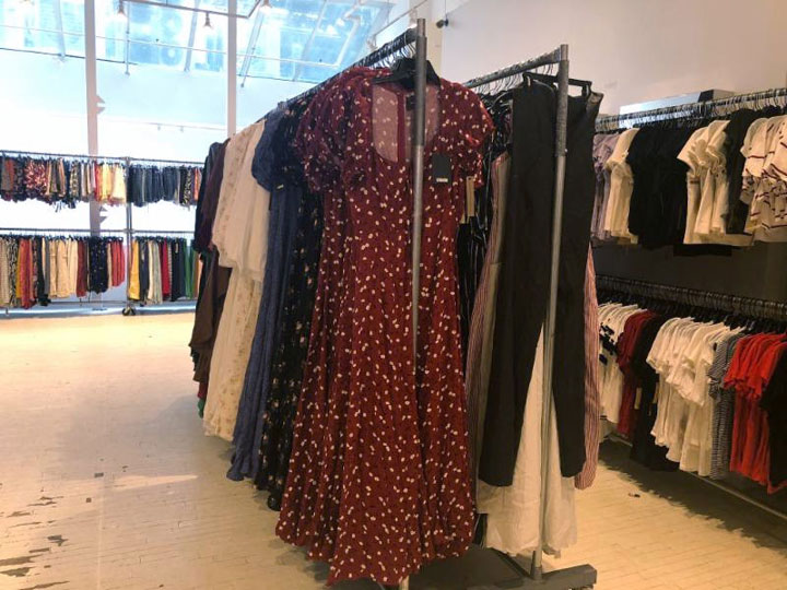 Pics from Inside the Reformation Sample Sale