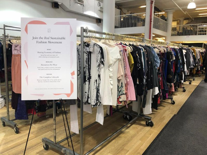 Pics from Inside the Rent The Runway Sample Sale