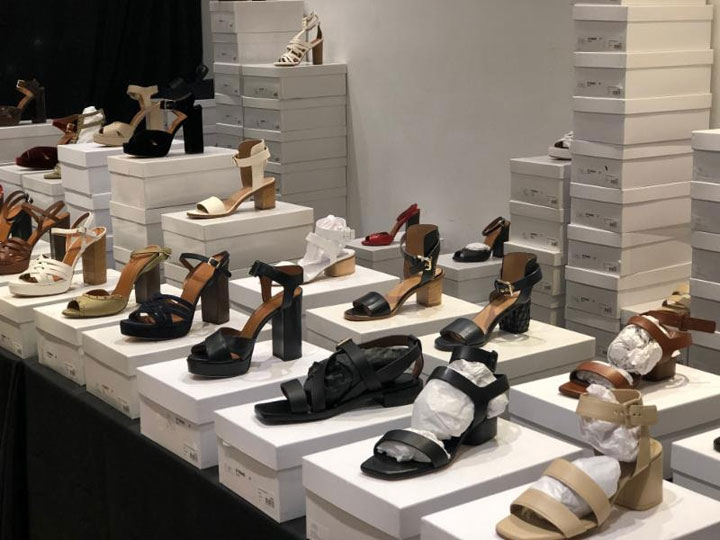 Pics from Inside the Scanlan Theodore Sample Sale