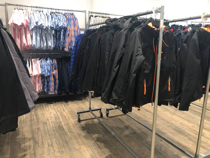 Pics from Inside the Superdry Sample Sale