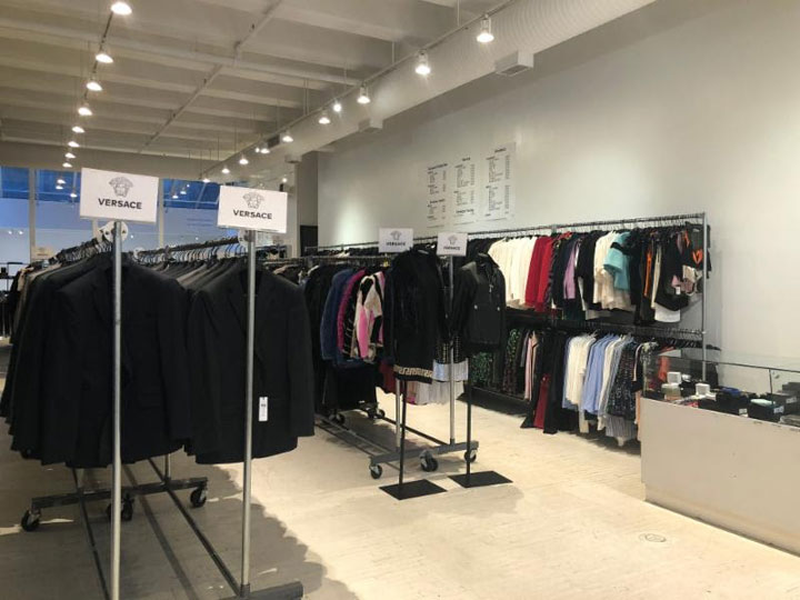 Pics from Inside the Versace Sample Sale